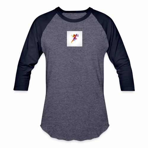 Running - Unisex Baseball T-Shirt