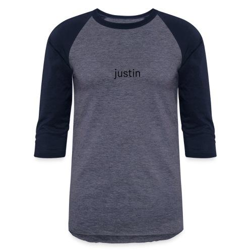 logo - Unisex Baseball T-Shirt