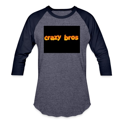 Crazy Bros logo - Baseball T-Shirt