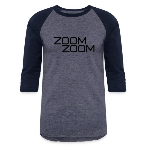 ZoomZoom! - Unisex Baseball T-Shirt