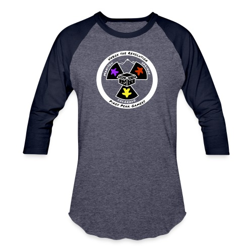 Pikes Peak Gamers Convention 2019 - Clothing - Baseball T-Shirt