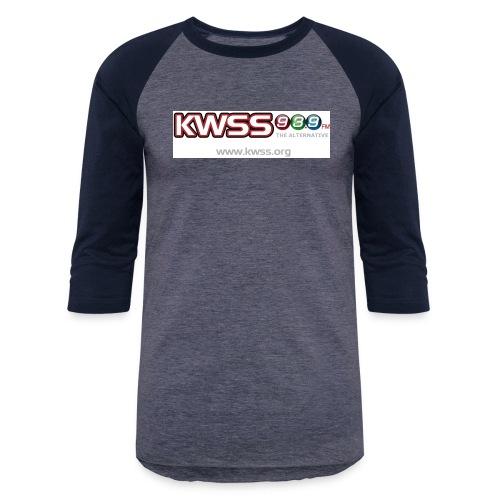 KWSS_939_W_WHT_the_alt - Baseball T-Shirt