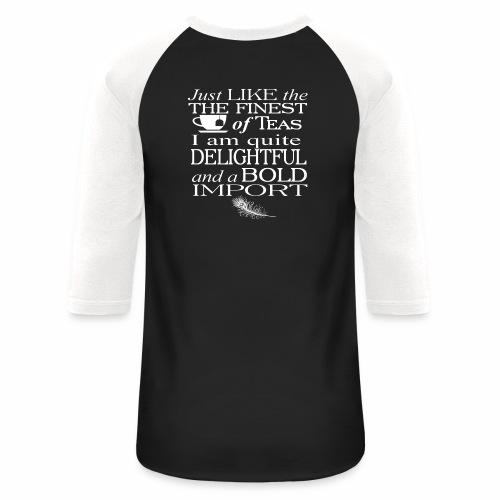 Bold Import - Baseball T-Shirt