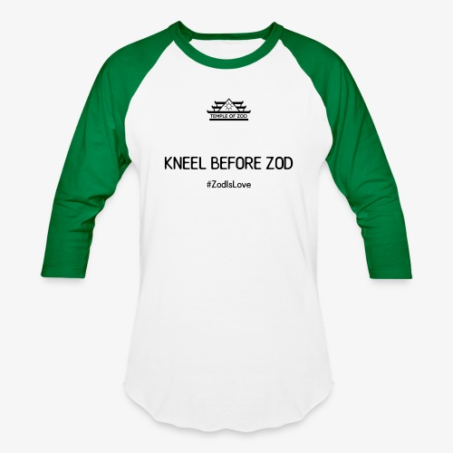 Kneel Before Zod - Baseball T-Shirt