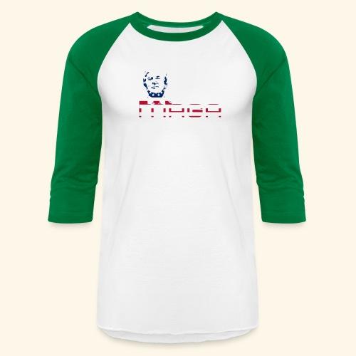 MAGA 3 (MakeAmericaGreatAgain) - Baseball T-Shirt