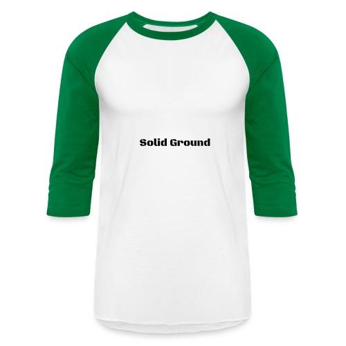 Solid Ground Print - Baseball T-Shirt