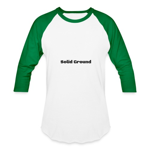 Solid Ground Print - Baseball T-Shirt
