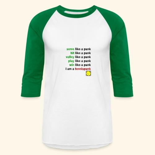 Play Like a Punk - Baseball T-Shirt
