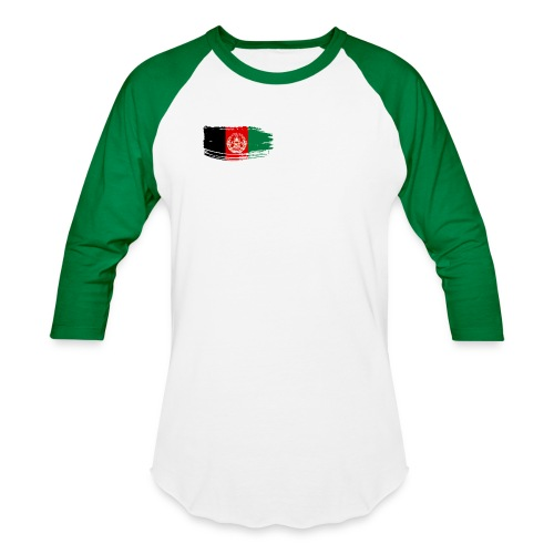 Afghanistan Flag - Baseball T-Shirt