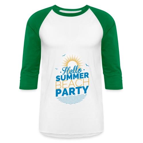 Summer party collection - Baseball T-Shirt