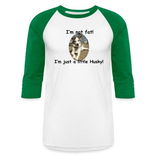 little Husky - Baseball T-Shirt