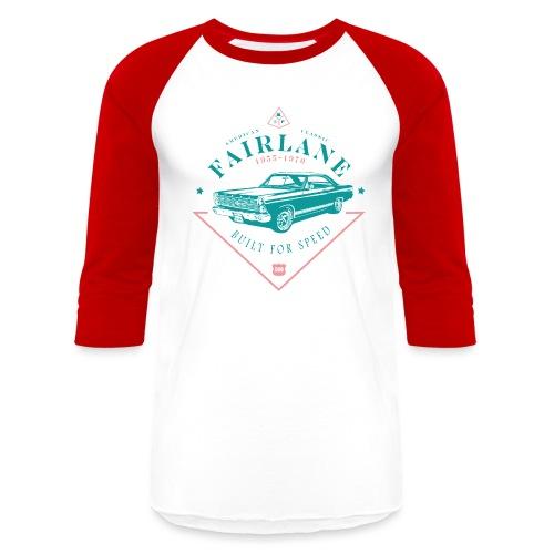 Ford Fairlane - Built For Speed - Unisex Baseball T-Shirt