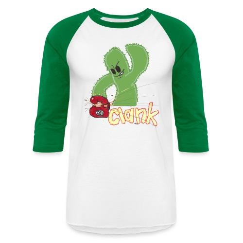 clank baseball - Unisex Baseball T-Shirt