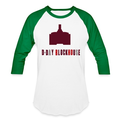 D-Day Blockhouse - Unisex Baseball T-Shirt