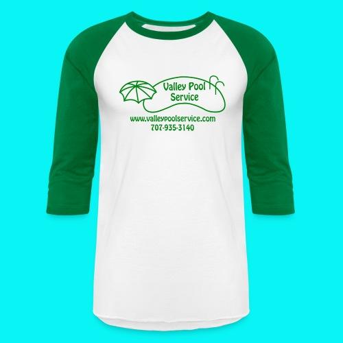 BESTLOGO trans Green png - Unisex Baseball T-Shirt