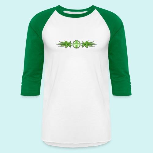 Medicated weed band cut shadow - Unisex Baseball T-Shirt