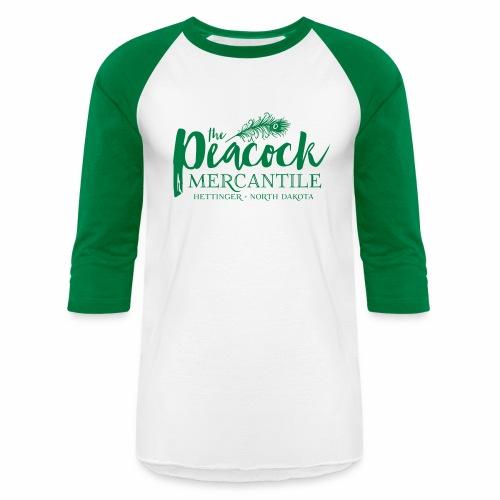 THE PEACOCK MERCANTILE - Baseball T-Shirt