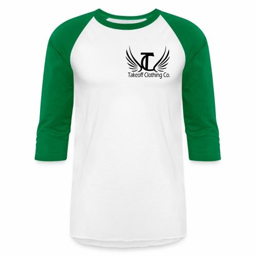 takeoffcllothesmain - Baseball T-Shirt
