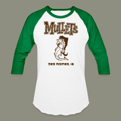 Mullets Color Series - Baseball T-Shirt