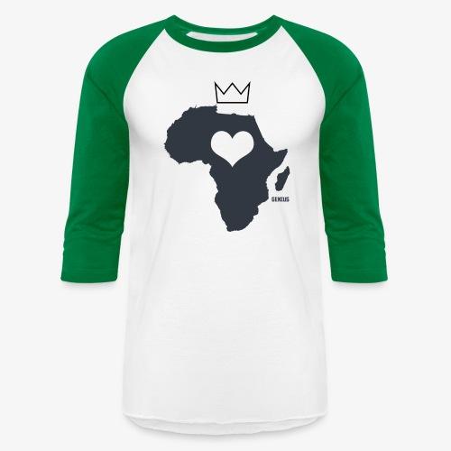 Herat Of Africa - Baseball T-Shirt