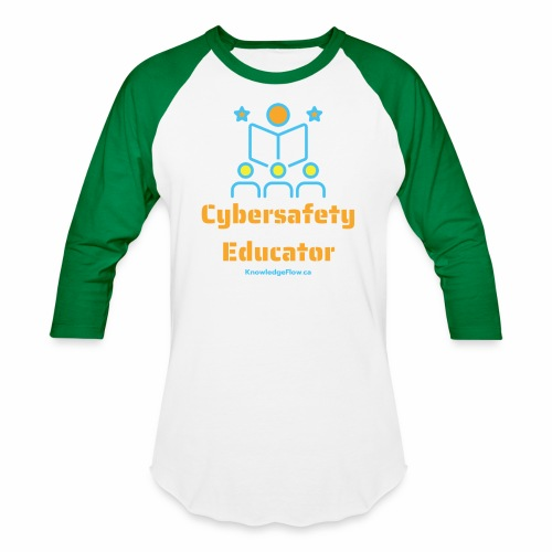 Cybersafety Educator - Unisex Baseball T-Shirt