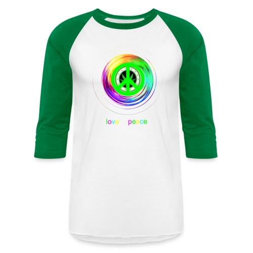 Love And Peace - Baseball T-Shirt