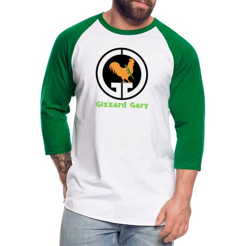 Logo with Channel Name - Unisex Baseball T-Shirt