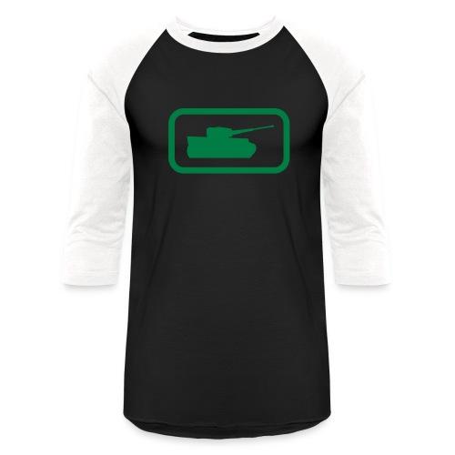 Tank Logo - Multi-Color - Axis & Allies - Baseball T-Shirt
