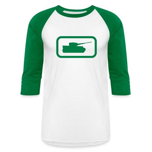 Tank Logo - Multi-Color - Axis & Allies - Unisex Baseball T-Shirt