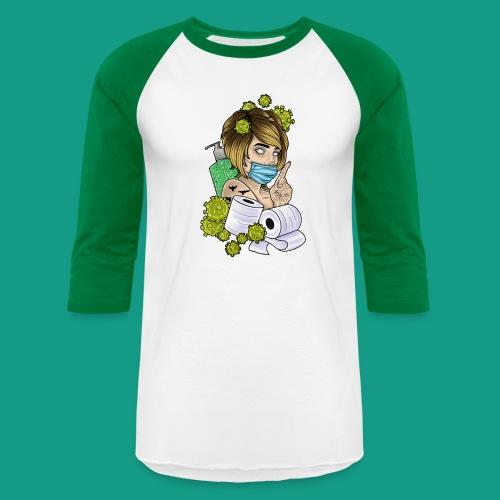 COVID Karen - Unisex Baseball T-Shirt