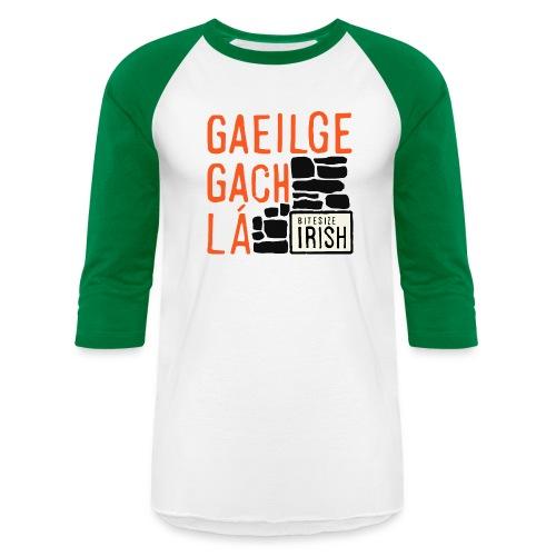 Bitesize Irish Merchandise - Unisex Baseball T-Shirt