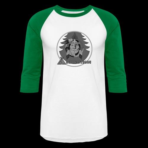 Archigantegou Black & White - Unisex Baseball T-Shirt