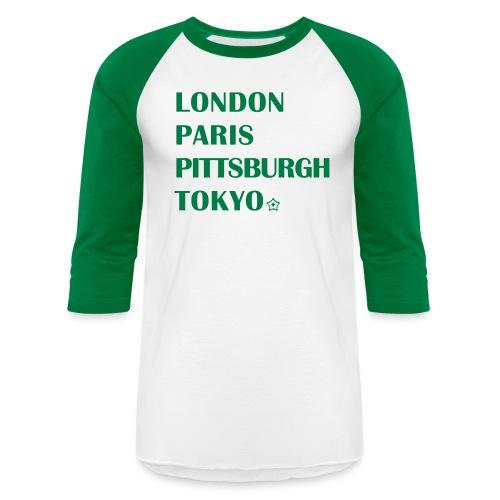The Cities - Unisex Baseball T-Shirt