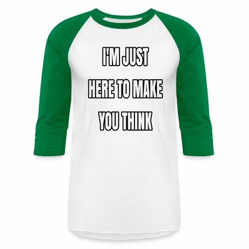 IJHTMYT (White Font) - Baseball T-Shirt