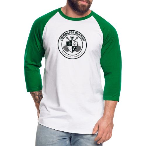 Looking For Heather - Crest Logo - Unisex Baseball T-Shirt