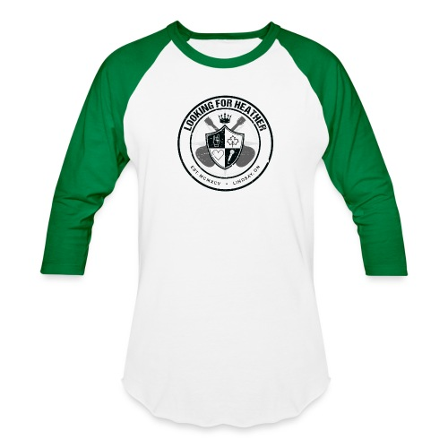 Looking For Heather - Crest Logo - Baseball T-Shirt