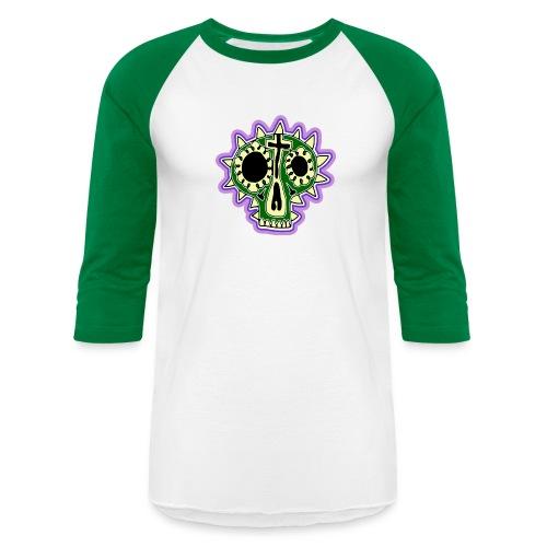 Hopey Día de Muertos - Unisex Baseball T-Shirt