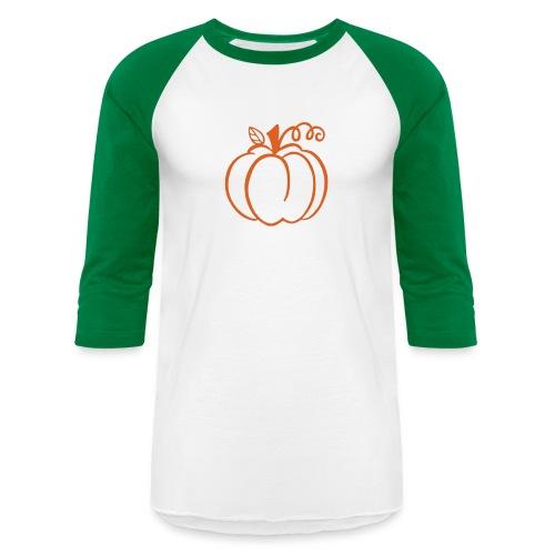 Pumpkin - Unisex Baseball T-Shirt