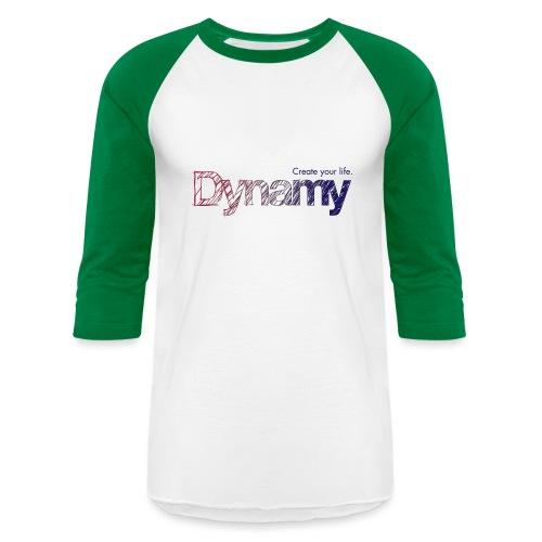 Dynamy Logo - Unisex Baseball T-Shirt