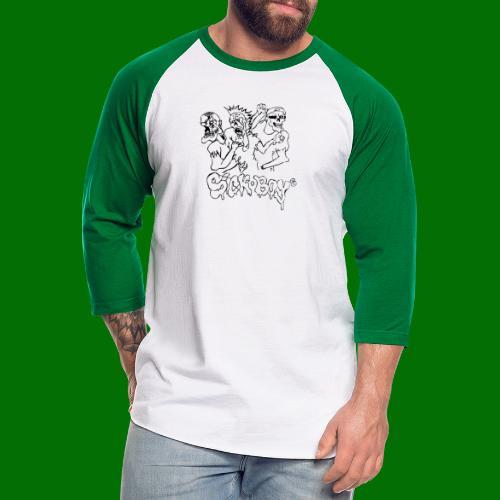 SickBoys Zombie - Unisex Baseball T-Shirt