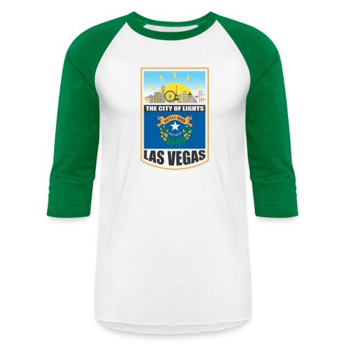 Las Vegas - Nevada - The city of light! - Baseball T-Shirt