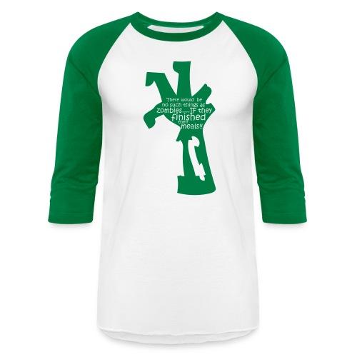 zombietee_nosuchThing - Unisex Baseball T-Shirt