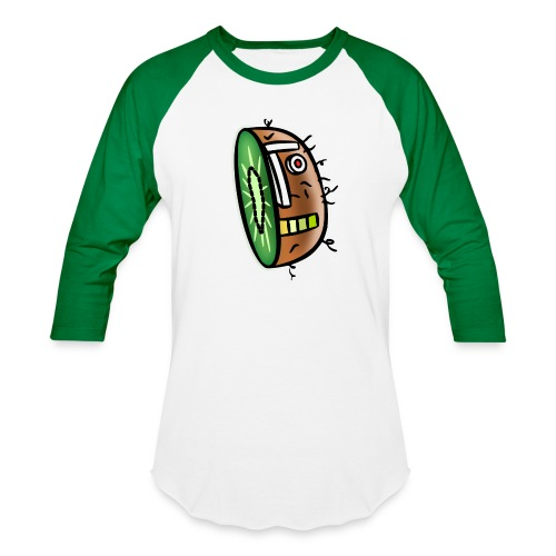 Kiwi Bot - Unisex Baseball T-Shirt