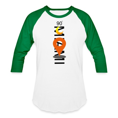 90 DEGREE MIAMI - Baseball T-Shirt