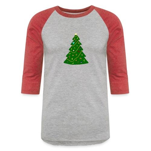 Christmas Tree For Monkey - Baseball T-Shirt