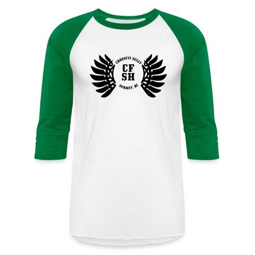 CFSH-Black - Unisex Baseball T-Shirt