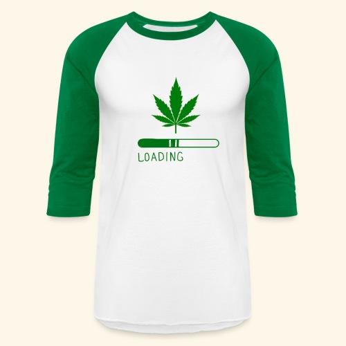 Pot Leaf Loading Design - Baseball T-Shirt