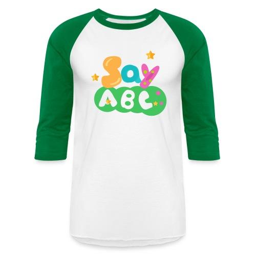 Men's SayABC T-shirts - Baseball T-Shirt