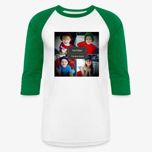 the brat attack 5 - Baseball T-Shirt