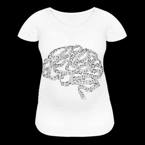 Sound of Mind | Audiophile's Brain - Women's Maternity T-Shirt